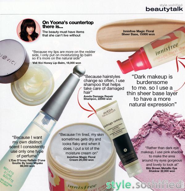 Soshified Styling Yoona – 'Beauty Talk: Her Beauty Secrets'