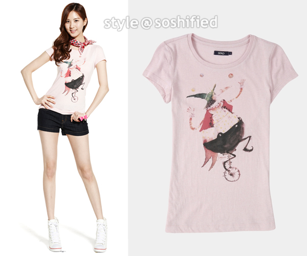 3afe84274 SPAO: Women's Graphic Artists Tee @ Spao.co.kr ~$18