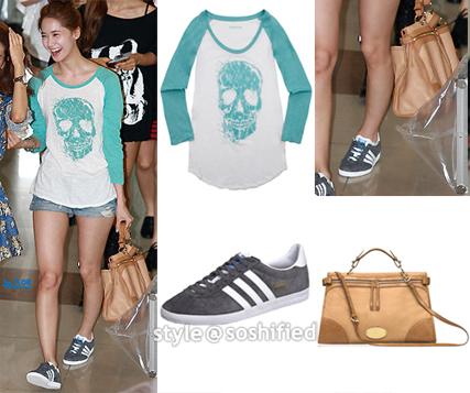 Adidas Originals: Gazelle Chrome OG @ Adidas.com. Zadig et Voltaire: Alba  Skull Print T-shirt @ Zadig-et-voltaire.com ~$91