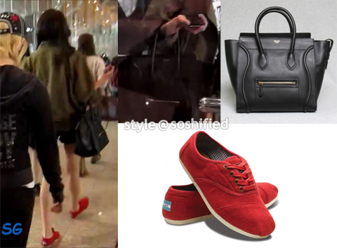 Sooyoung-Celine-TOMS