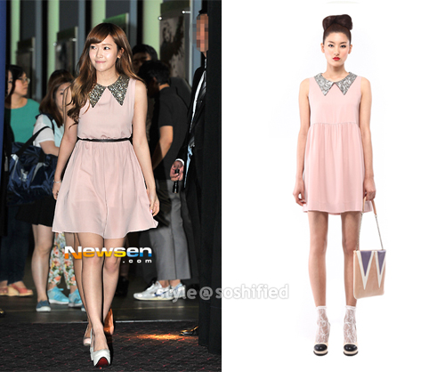 Debb : Spangle collar mini dress @ Wconcept.co.kr ~$238