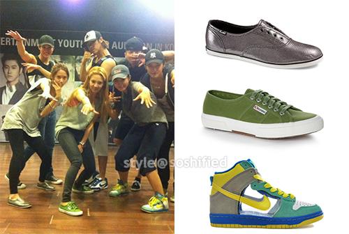 SNSD: Keds, Superga, Nike | Soshified