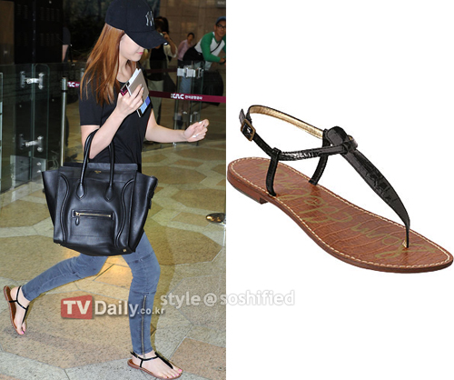00f2b7d8d4e1 Review on Sam Edelman Gigi Sandal as seen on Jessica.