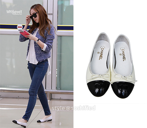 Fashion Snsd Jessica Channel Shoes Cimonkhae