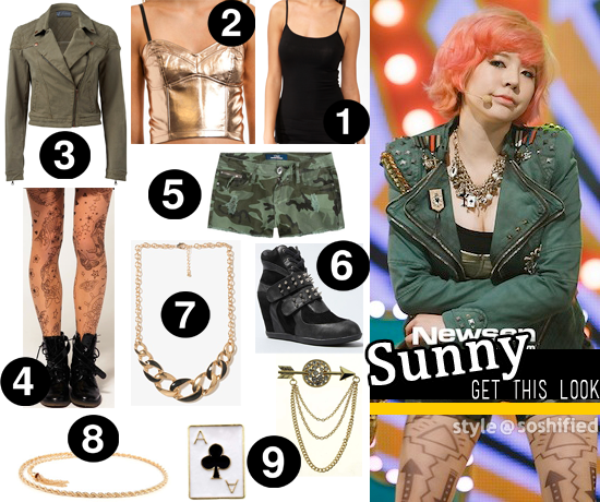 """7d8a6450ba18 Soshified Styling Get This Look  """"I Got A Boy"""" – Military Style"""