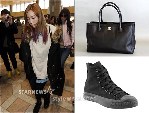 Taeyeon Chanel Converse