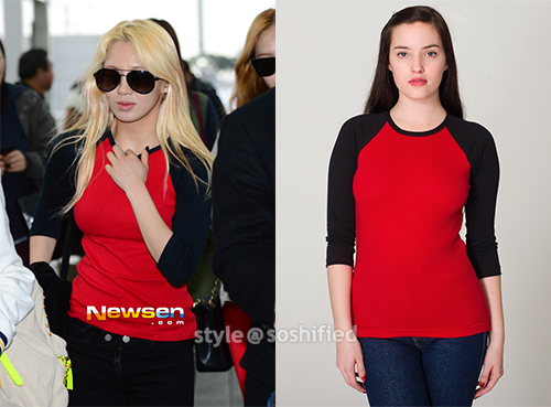 Hyoyeon American Apparel