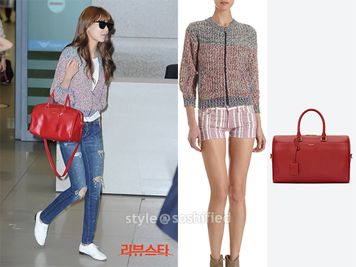 saint laurent bag - Soshified Styling SNSD: Etoile Isabel Marant, Yves Saint Laurent ...