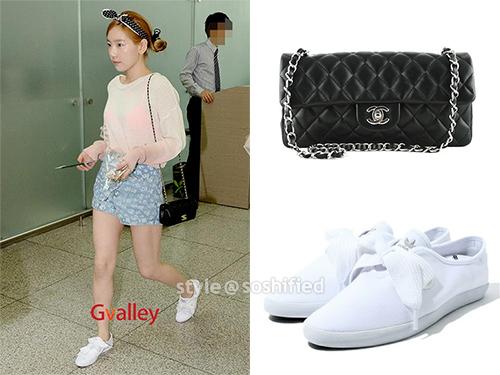 Taeyeon Chanel adidas