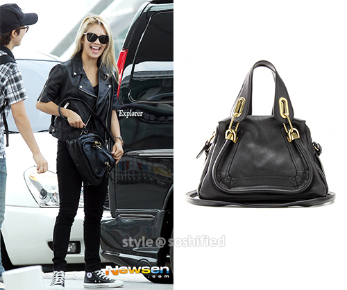 Chloe Vanessa Leather Shoulder Bag 80