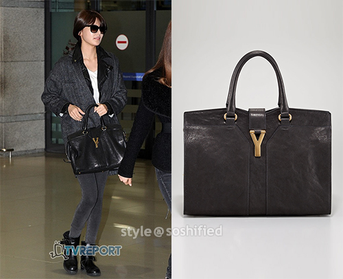 saint laurent classic baby duffle bag - Soshified Styling Review: Yves Saint Laurent Cabas Chyc Tote Bag