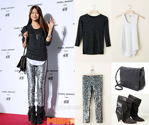 Sooyoung H&M x Isabel Jerome Dreyfuss