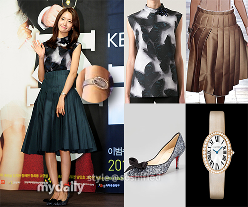 Yoona Lanvin Loubs Cartier