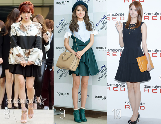 Snsd Best Red Carpet Outfits Of 2013 As Voted By Readers
