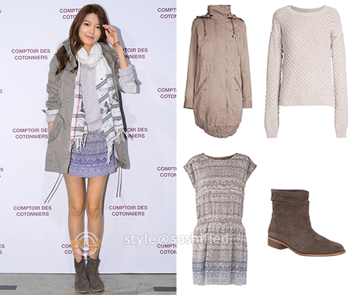 Soshified styling sooyoung comptoir des cotonniers - Comptoir des cotonniers it ...