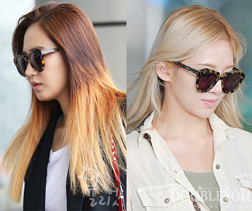 4ed8cb039740 A review on Karen Walker s  Number One  sunglasses as seen on Hyoyeon and  Yuri.