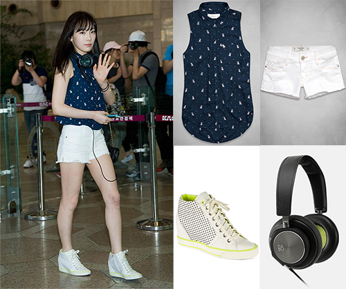 Taeyeon Abercrombie DKNY B&O