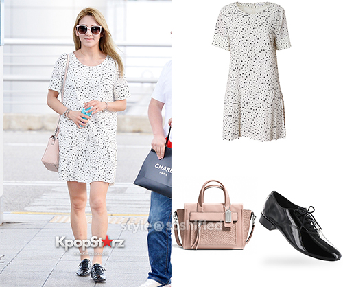 Hyoyeon Banila B Coach Repetto