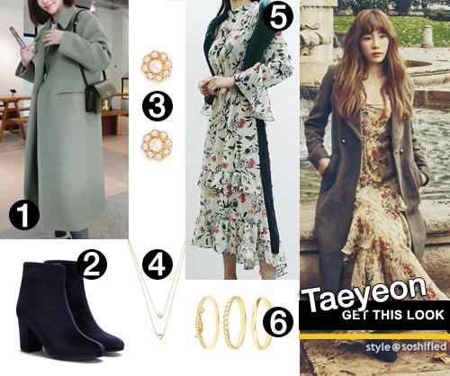 459932bef 1. Fashion Street: Plain Notch Lapel Long Coat @ yesstyle.com $47.41 2.  Yoins: Velvet Chunky Heels Short Boots @ yoins.com $41.95