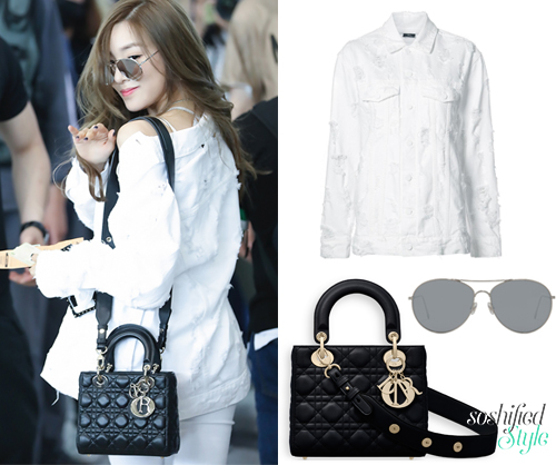 "42adbbc4d6 Dior  ""My Lady Dior"" Originals Bag   dior.com (Price upon application)  Note  Tiffany s shoulder strap is personalized. Gentle Monster  Ranny Ring  02 ..."