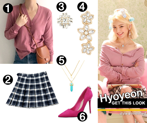 GTL Teach You MV Hyoyeon